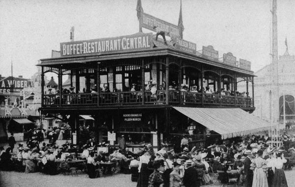 Liege Expo 1905 - Buffet Restaurant Central