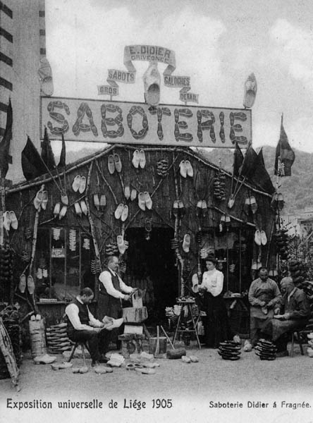 Liege Expo 1905 - Saboterie Didier